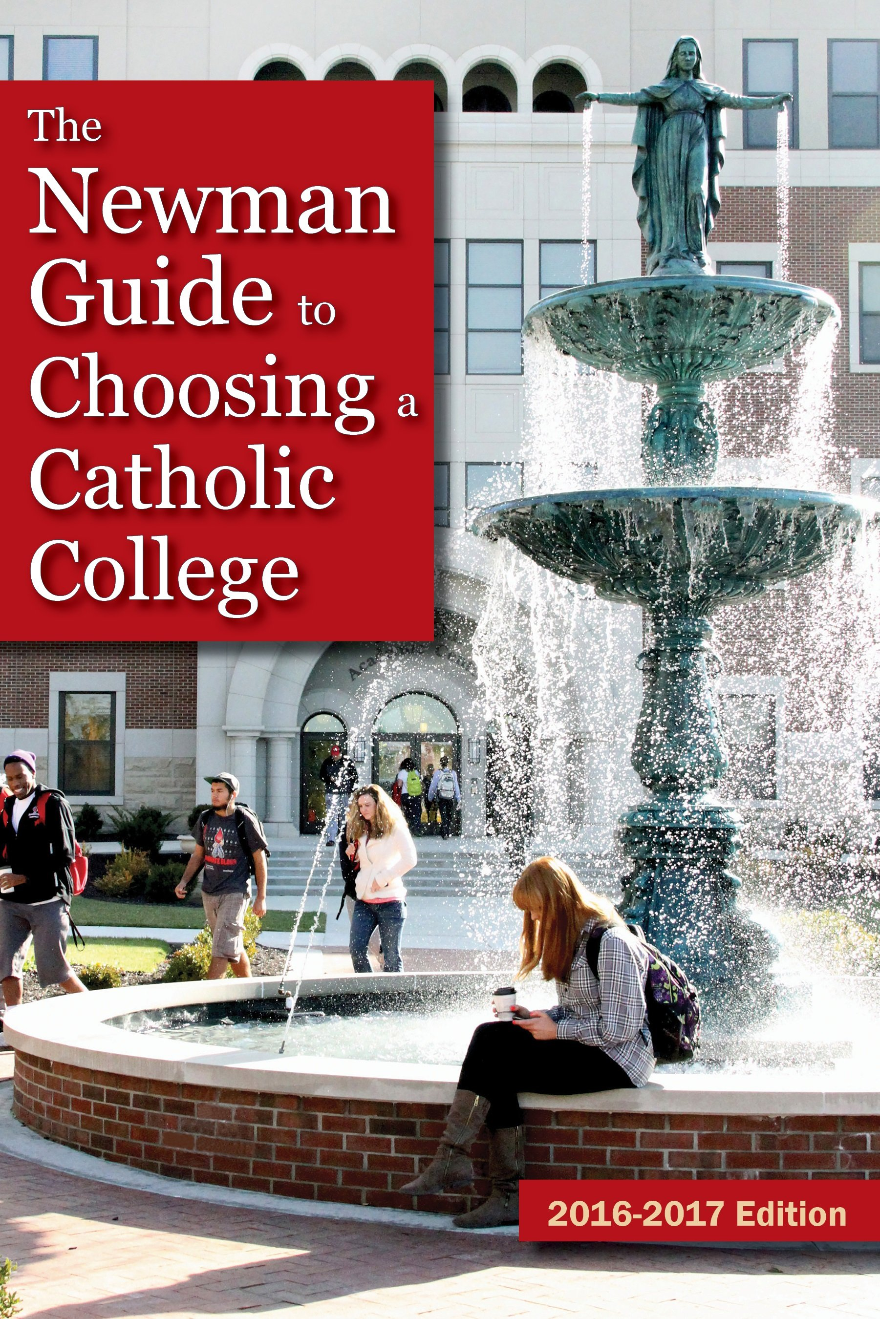 Benedictine is featured on Newman Guide cover.